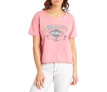 Crop - T-Shirt für Damen - Pink