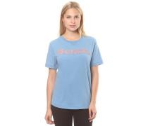 Core Logo August - T-Shirt für Damen - Blau