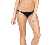 Simply Solid Full - Bikini Hose für Damen - Schwarz