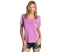 Pass Pocket - T-Shirt - Lila