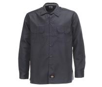 L/S Slim - Hemd für Herren - Grau