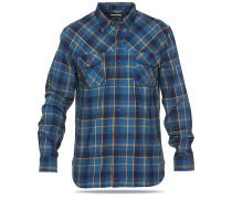 Ogden L/S Flannel - Hemd für Herren - Blau