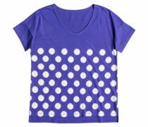 Loose - T-Shirt für Damen - Blau