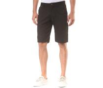 Essex Pinstripe - Chino Shorts für Herren - Schwarz