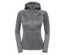 Agave - Kapuzenpullover für Damen - Grau