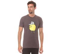 Zitrone - T-Shirt für Herren - Braun