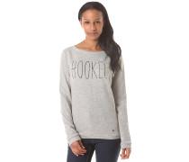 Freedom - Sweatshirt für Damen - Grau
