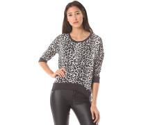 Crepe - Bluse für Damen - Schwarz