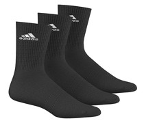 3 Performance Crew Socken