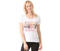 Rose Are Red Drop Back - T-Shirt für Damen - Weiß