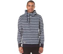 Hooker Stripes Organic - Sweatshirt für Herren - Blau