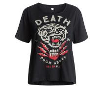 Tygurr Crop - T-Shirt für Damen - Schwarz