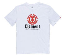 Vertical - T-Shirt - Weiß