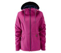 Jenny Softshell - Snowboardjacke für Damen - Pink