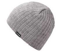 Vert RibMütze Grau
