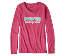 Pastel P-6 Logo L/S - Langarmshirt für Mädchen - Pink