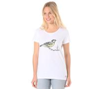 Print - T-Shirt für Damen - Weiß