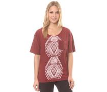Wild Chaman - T-Shirt - Rot