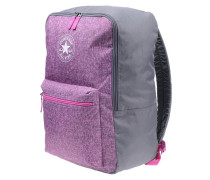 Horizontal ZipRucksack Pink