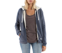Essential ZH Sherpa - Kapuzenjacke für Damen - Blau
