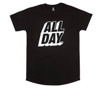 All Day Long - T-Shirt für Herren - Schwarz