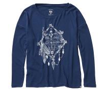 Magical Winter - Langarmshirt für Damen - Blau