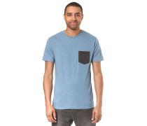 Pocket Heather - T-Shirt - Blau