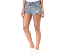 Highway - Shorts für Damen - Blau