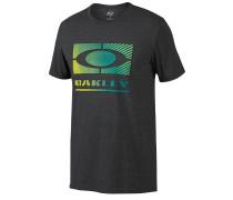 50/50 Gradient Ellipse - T-Shirt für Herren - Schwarz