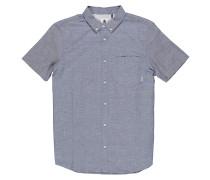 Greene Neps S/S - Hemd - Blau