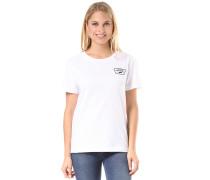Ditsy Blooms Full Patch - T-Shirt für Damen - Weiß