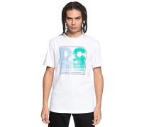 Sunset Palms - T-Shirt - Weiß
