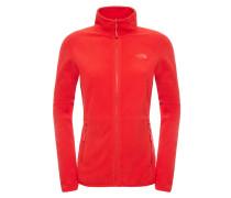 100 Glacier - Funktionsjacke für Damen - Rot
