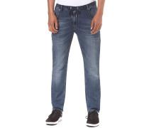 Jogger Jeans - Stoffhose für Herren - Blau