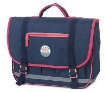 Solid Satchel - Rucksack für Damen - Blau