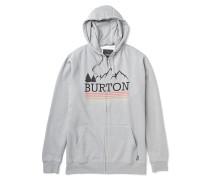 Rec Griswold Hooded Zip Jacket - Kapuzenjacke für Herren - Grau