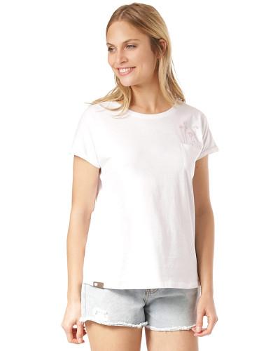 Via - T-Shirt - Weiß
