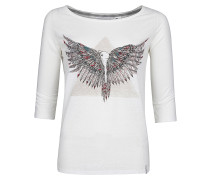 Freedom - Langarmshirt für Damen - Weiß