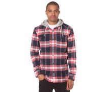 Hood Up - Langarmshirt für Herren - Karo