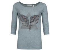 Freedom - Langarmshirt für Damen - Grau