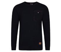 Flannelville Crew - Sweatshirt für Herren - Schwarz