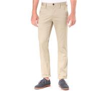 Bronson Slim Premium Micro Stretch - Hose für Herren - Beige