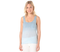 Fade Pocket - Top für Damen - Blau