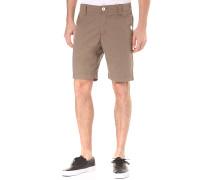 Karel - Chino Shorts für Herren - Braun