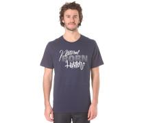 Natural Born Hustler - T-Shirt für Herren - Blau