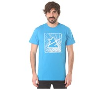 Zimtstern TSM Scribbler - T-Shirt für Herren - Blau