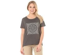 Paisley Tree Crew - T-Shirt für Damen - Grau