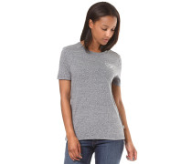 Full Patch Crew - T-Shirt für Damen - Grau