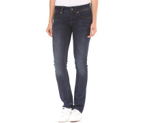 Midge Saddle Mid Straight Neutro Stretch - Jeans für Damen - Blau