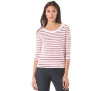 Striped Jersey - Langarmshirt für Damen - Rot